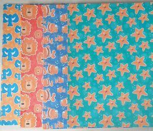 A4 Glitter Sheets x 27 Red Blue Orange Green Fish Lion Starfish Elephant New