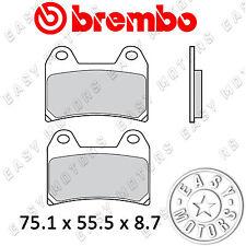 COPPIA PASTIGLIE FRENO BREMBO GENUINE ANTERIORE KTM DUKE ABS 690 12> 07BB19.90