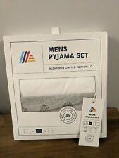 ALDI Mania Men's Pyjamas - Size Large - Limited Edition Rare PJ Set Aldimania