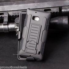 Protective Future Armor Hybrid Hard Back Case For Nokia Lumia 929 & 930