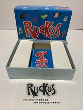 New Sealed 2005 RUCKUS The Game of Takes and Double Takes CARD GAME Award Winner
