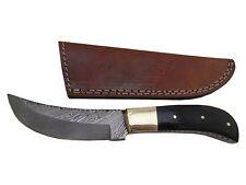 "Pioneer Hand Made Custom Full Tang Knife With Brass Bolster 9"" Pt -262"