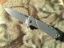 Zero Tolerance ZT 0801 ZT801 Rexford Titanium, Elmax, KVT Knife Knives New