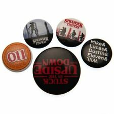 Stranger Things Button Badge Set Gift