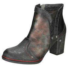 Calzado de mujer botines negros Mustang