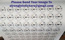 business Stickers Custom Print Vinyl Your Design  Logo Stickers bespoke