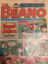 BEANO COMIC 1986 Various Dates - Very Good Condition in Plastic Sleeve