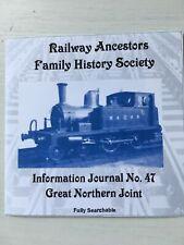 Genealogy: Railway Ancestors Family History Society Journal 47 CD