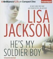 Lisa Jackson HE'S MY SOLDIER BOY Unabridged CD *NEW* FAST 1st Class Ship!