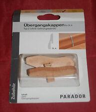 Parador 1048265 Übergangskappe (ohne Gehrungsschnitt) für SL4 Typ 2 buche (B55)