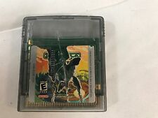 Godzilla The Series  Monster Wars Nintendo Game Boy Color 2000 Fast Shipping !!!