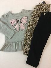 the CHILDRENs PLACE Long Sleeve Top Shirt Jeans Pants Outfit 18-24 Months 2T
