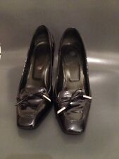 Tod's navy Patent Leather Shoes, EU 36, UK 3