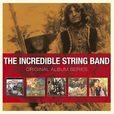 THE INCREDIBLE STRING BAND - ORIGINAL ALBUM SERIES: 5CD SET (2012)