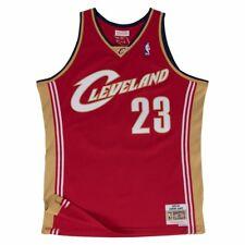 45441ca8e78a Lebron James Cleveland Cavaliers Mitchell   Ness Swingman Jersey Red XL
