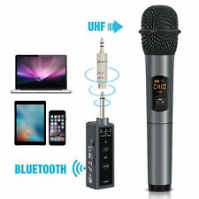 Tonor Wireless Bluetooth Microphone Handheld Karaoke Speaker 10 Channel UHF UK