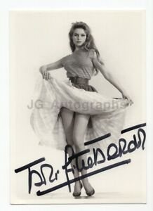 Brigitte Bardot - Classic Entertainment Icon - Signed 4x6 Postcard