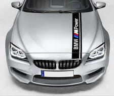 BANDE POUR BMW M3 POWER RACING STRIPE 140cmX10cm AUTOCOLLANT STICKER BD588