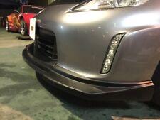 Carbon center sides Flat Black front lip for 2013-2020 Nissan 370Z EVO-R Z34
