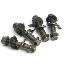 """4*Steel Four wheel Alignment Camber Bolt 10.9 Eccentric Screw 14mm/0.55""""for Tire"""