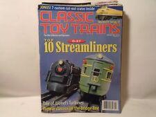 8 VOLUME SET CLASSIC TOY TRAINS 1998