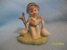 Vintage Swiss Boy with Ducklings Porcelain Figurine 1925? ~ Check it out here >