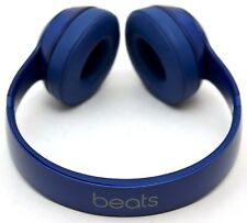 GENUINE Beats by Dr Dre Solo 2 Wired Headphones BLUE Solo2 B0518 audio folding B