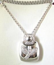 Chimento Italy 18 KT White Gold Gorgeous Diamonds Pendant