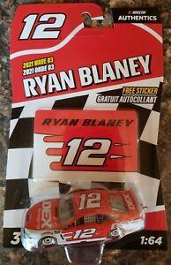 Ryan Blaney 2021 Wave 03 Lionel NASCAR Authentics 1:64 Scale Diecast Car