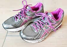 Women's ASICS GT 2170 Purple And Grey Running Shoes. Lace Up. Size 8