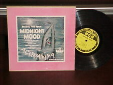 """Acquaviva & His Orch """"Music For Your Moonlight Mood"""" 10"""" LP MGM"""