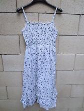 Robe à bretelles MARLBORO CLASSICS coton blanc été doublure 44