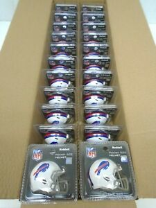 24 Pc Riddell Pocket Size Helmet Buffalo Bills Pocket Pro Wholesale Lot