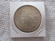 LOT #4M, 1924 PEACE SILVER DOLLAR, 90% SILVER!!