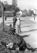 Photo. 1960-1. Slovenia.  Avtoštoparji in Maribor