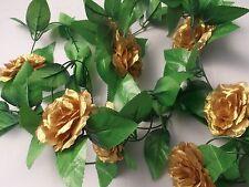 Goldene Hochzeit Girlande In Blumen Bluten Girlanden Fur