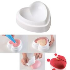 1PCS Silicone Love Heart Shape Cake Mold Chocolate Jelly Baking Pastry Molds