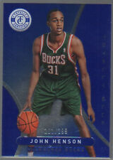 JOHN HENSON  2012-13 PANINI TOTALLY CERTIFIED TOTALLY BLUE ROOKIE  #261  /299