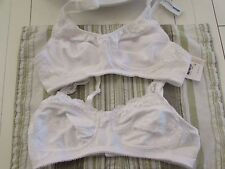 2 Mastectomy Bras 34AA Pocketed for Prosthesis Amoena  Brand New With Tags