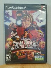 NeoGeo Battle Coliseum - PlayStation 2, PS2 - BRAND NEW AND FACTORY SEALED