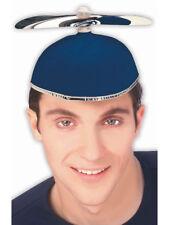 Nerds Animal House Costume Blue Student Propeller Beanie Hat