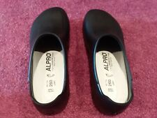 Alpro Women's Black Professional/Slip Proof Size 9 260 Shoes No Box Never Worn