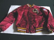 VINTAGE YOUTH NFL STARTER PRO LINE WASHINGTON REDSKINS JACKET COAT MEDIUM