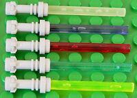 LEGO - 5 x Laserschwert Lichtschwert in 5 Farben / 64567 30374 NEUWARE