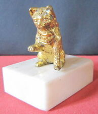 CHAT BRONZE DE VIENNE PLOMB DE NUREMBERG LITTLE CAT