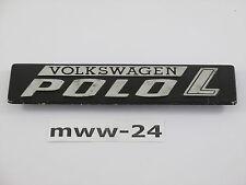 original VW Polo 1 L Schriftzug Emblem aus Metall - 861853749