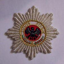 German Prussia Germany Kaiser Medal Star Black Eagle Bullion Merit Award Patch