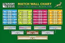 Rugby Coppa del mondo entro il 2015 tabellone-Maxi poster 91,5 cm x 61 cm (nuovo e sigillato)