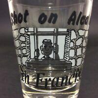 """Shot Glass Alcatraz San Francisco Souvenir 2.25"""" Collectible Bar Decor Man Cave"""