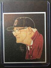 Ohio State Woody Hayes Refractor Sketch Card Print #1/9 SignedbyArtistT.Keaton
